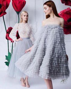 So beautiful – Moda-Creative thinking Style Haute Couture, Couture Fashion, Runway Fashion, Fashion Show, Fashion Looks, Fashion Design, Simple Dresses, Elegant Dresses, Cute Dresses
