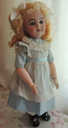 "16"" Simon Halbig 1249 ""Santa"" Antique German Bisque Doll Alice in Wonderland | eBay"