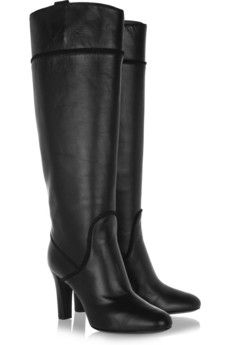 Yves Saint Laurent - Passy leather knee boots