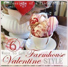 Six Ways to Get Farmhouse Valentine Style