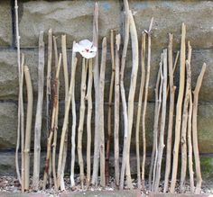 Natural Straight Driftwood Sticks/ Branches by ElaLakeDesign, $35.00 #driftwoodbranches #shoredecor #beachthemewedding