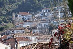 Old houses at Şirince,Türkiye