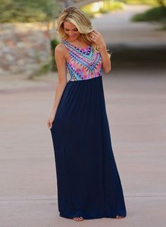 Won't Back Down Maxi Dress - Navy from Closet Candy Boutique Dresser, Beautiful Maxi Dresses, Nice Dresses, Prom Dresses, All I Ever Wanted, Ethnic Fashion, Women's Fashion, Spring Fashion, Fashion Trends