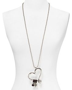 """Uno de 50 Love at First Sight Necklace, 34"""" 