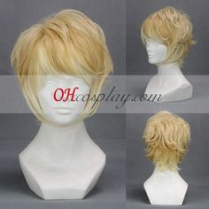 Diabolik Lovers Light Yellow Cosplay Wig