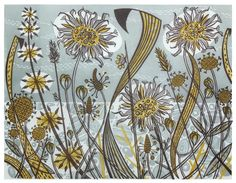 Angie Lewin - The Scottish Gallery, Edinburgh - Contemporary Art Since 1842
