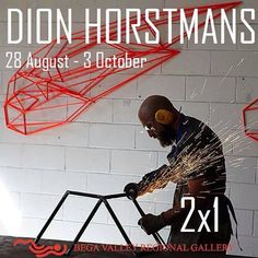 #DionHorstmans has a new exhibition of geometric steel sculptures opening tomorrow at Bega Valley Regional Gallery. Dion will be exhibiting with us again in our annual Sculpture exhibition in January and we will be presenting a solo show of new work in July 2016. Email us to register your interest in Dion's sculptures and to receive forthcoming exhibition notifications. In the meantime, you can see his work at Bega until 3 October! @begavalleyregionalgallery @dionhorstmans