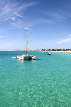 Sal, Cape Verde by kathrynburrington Places Around The World, Oh The Places You'll Go, Around The Worlds, Cape Verde Sal, Cap Vert, Honeymoon Destinations, Santa Maria, Cabo, West Coast