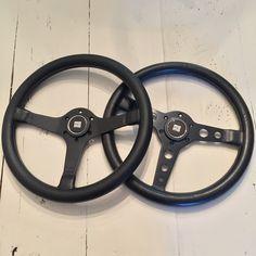 Momo prototipo S and flat Momo prototipo steering wheels