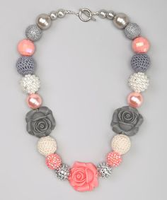 Take a look at this Coral Fairy Tale Necklace by My Sunshine Shoppe on #zulily today!