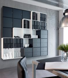 ABC-Reoler at Stockholm Furniture Fair - Quadrant is the #shelving system with infinite possibilities