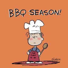 The chef is in. Peanuts Cartoon, Peanuts Snoopy, Food Cartoon, Charlie Brown Christmas, Charlie Brown And Snoopy, Snoopy Love, Snoopy And Woodstock, Peanut Pictures, Linus Van Pelt
