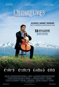 Vencedor do Oscar de melhor filme estrangeiro em 2009, Departures (A Partida) se passa no Japão e conta a história de uma família com um ramo de negócio único.