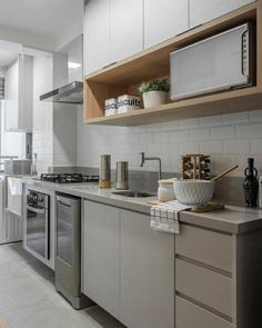 Kitchen Decoration: Color Trends and Ideas 2019 - Home Fashion Trend Kitchen Room Design, Kitchen Sets, Kitchen Layout, Home Decor Kitchen, Kitchen Living, Interior Design Kitchen, Kitchen Furniture, Home Kitchens, Rustic Home Design