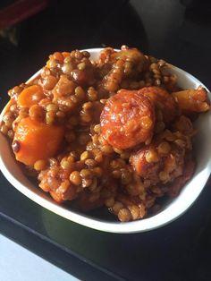 un très bonne recette proposée par la page Chorizo, Chana Masala, Ethnic Recipes, Food, Healthy Recipes, Southern Kitchens, Dish, Essen, Meals