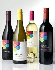 Seven Daughters | Wine Label  & Package Design by CF Napa Brand Design
