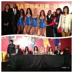 Meet some great fans at the NBA Beijing party! #WarriorsinChina #Globalgames #Beijing #China #NBA #Warriors