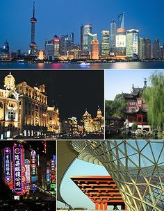 Shanghai, China looks like a city from the future.