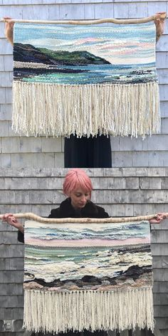 Etsy Shop Feature on So Super Awesome Weaving Textiles, Weaving Art, Tapestry Weaving, Loom Weaving, Wall Tapestry, Hand Weaving, Money Making Crafts, Weaving Wall Hanging, Textile Art