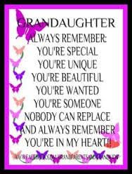 Image Result For Birthday Quotes Granddaughter From Grandma Family Love Inspirational