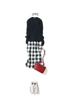 Kyoko Kikuchi's Closet #kk-closet タイトスカートをキュートに着る