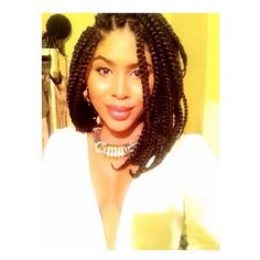 15 Photos That Prove Bob Box Braids Are the Hottest New Protective Style Trend | Black Girl with Long Hair