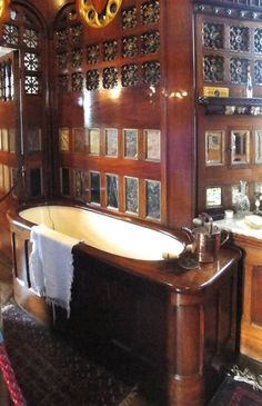 Lord Bute's Bedroom, Cardiff Castle Interior, Cardiff, South Wales, by William Burges.