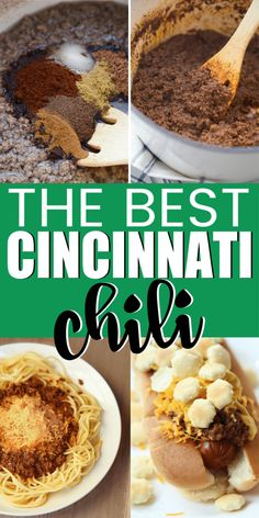 A delicious and easy Cincinnati chili recipe! The best recipe you'll try - just like Skyline or Gold Star but an easy recipe you can make at home! A healthier version of the traditional Skyline recipe! Healthy Recipes, Detox Recipes, Fall Recipes, Cooking Recipes, Dinner Recipes, Ww Recipes, Muffin Recipes, Christmas Recipes, Crockpot Recipes
