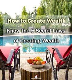 Is becoming rich the same as being wealthy? No, there's a difference. There's more to wealth than money. The wealthy people live life on their own terms. Do you also want to become wealthy? Then know these secret laws of creating wealth that the wealthy follow. You too can create wealth - read more on the blog!
