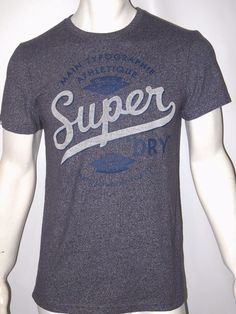 e56f5ecc Superdry men's casual tee je suis athletic size small NWT #superdry # GraphicTee Superdry Mens