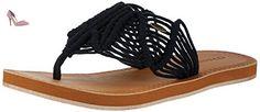 O'Neill  Fw Crochet, Bride cheville femme - noir - Schwarz (Black Out), - Chaussures oneill (*Partner-Link)