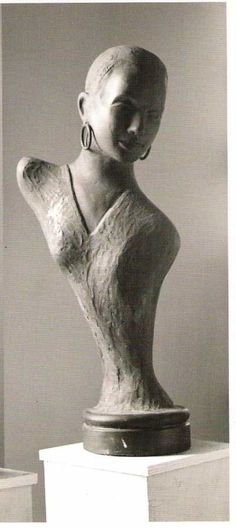 Bronze Celebrity #sculpture by #sculptor Guy Portelli titled: 'Taboo (Bronze Bust/Head portrait of Sade Sculptures)' £14000 #art