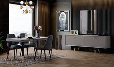 Primos Home Store: İnegöl Mobilya Quality Furniture, Online Furniture, Buffet Cabinet, Dining Table Chairs, Dining Room Design, Sofa Set, Living Room Furniture, Sweet Home, Room Decor