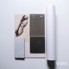 Material mood for a private residence ~ minimalism