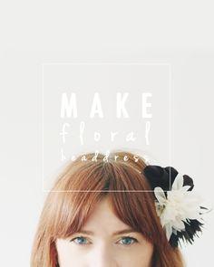DIY Floral Headband The Hobzy Blog top