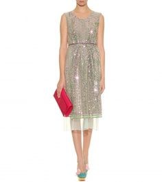Marc Jacobs - SEQUIN EMBELLISHED MIDI DRESS - mytheresa.com GmbH
