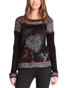 "Desigual T-Shirt ""Azahara"" 48T2487 | Fun Fashion | Canada |Fun Fashion Online Boutique"