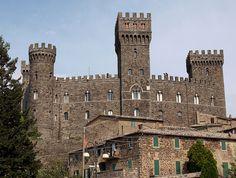 Torre Alfina castle, Lazio
