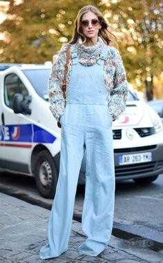 Chiara Ferragni from Street Style at Paris Fashion Week Spring 2016 | E! Online