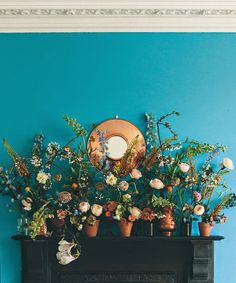 mix and match layered flowers