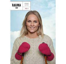 Strikk og Tov nr.9 - Finull, Vams og Lamull | Rauma Garn Threading