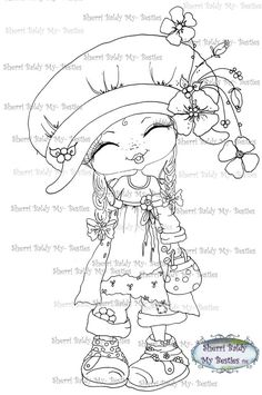 Sherri Baldy Digi Stamps Here are some of the NEW digis I sneak peeked last night coming out from My Fashion Dollie Lil Ragamuffins ...They are designed from my Original line of clothing that I designed a little fairy girls line of clothing I design for....XOXO ******Have fun crafting****** This is for the black and white line art digi stamp only. You may use the images to create and sell handmade/colored cards and projects; please give credit to *Sherri Baldy* for the image ...