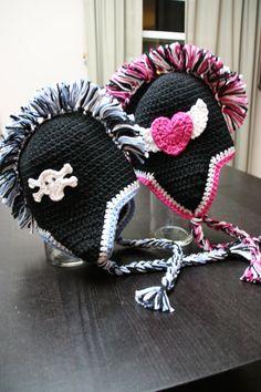 Mohawk Crochet Hat!