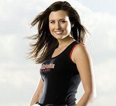 Ashley Force   Drag Racing, USA.