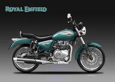 Motosketches: ROYAL ENFIELD BULLET EVO 400 Royal Enfield India, Enfield Himalayan, Enfield Motorcycle, Royal Enfield Bullet, Classic Series, Motorcycle Design, Bike Accessories, Bike Life, Evo