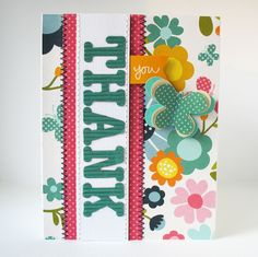 Card-Blanc by Kathy Martin: Thank You Cards