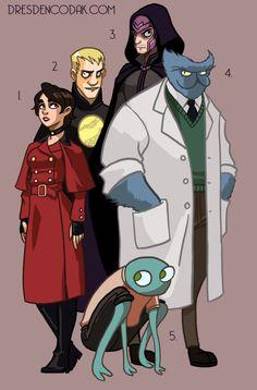 Dresden Codak's X-MEN REBOOT  1. Wanda Maximoff/Scarlet Witch (age 20)  2. Alex Adams/Havok (age 22)  3. Magnus Eisenhardt/Magneto  4. Dr. Hank McCoy/Beast (age 38)  5. Mortimer Toynbee/Toad (Age 20)