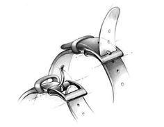 Watch buckle details