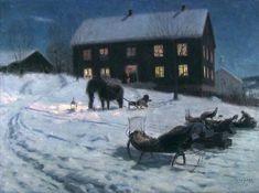 Lars Jorde, Julegilde, 1895-1896