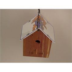 University of Kentucky White Cedar Birdhouse License Plate Roof Handmade BHLP-794 $49.99